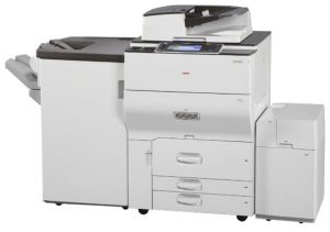 Ricoh MPC6502SP Colour Laser Multifunction Printer (West Coast Office Equipment - Perth)