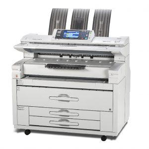 Lanier MPW2401 3601 wide format printer