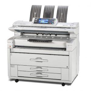 Lanier MPW2401 3601 wide format printer