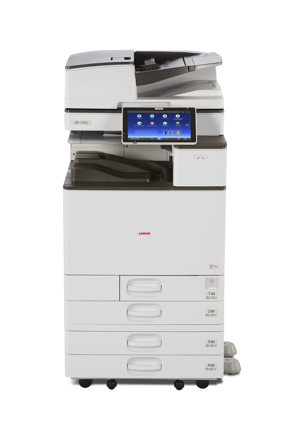 Ricoh MPC2504 colour multifunction office printer