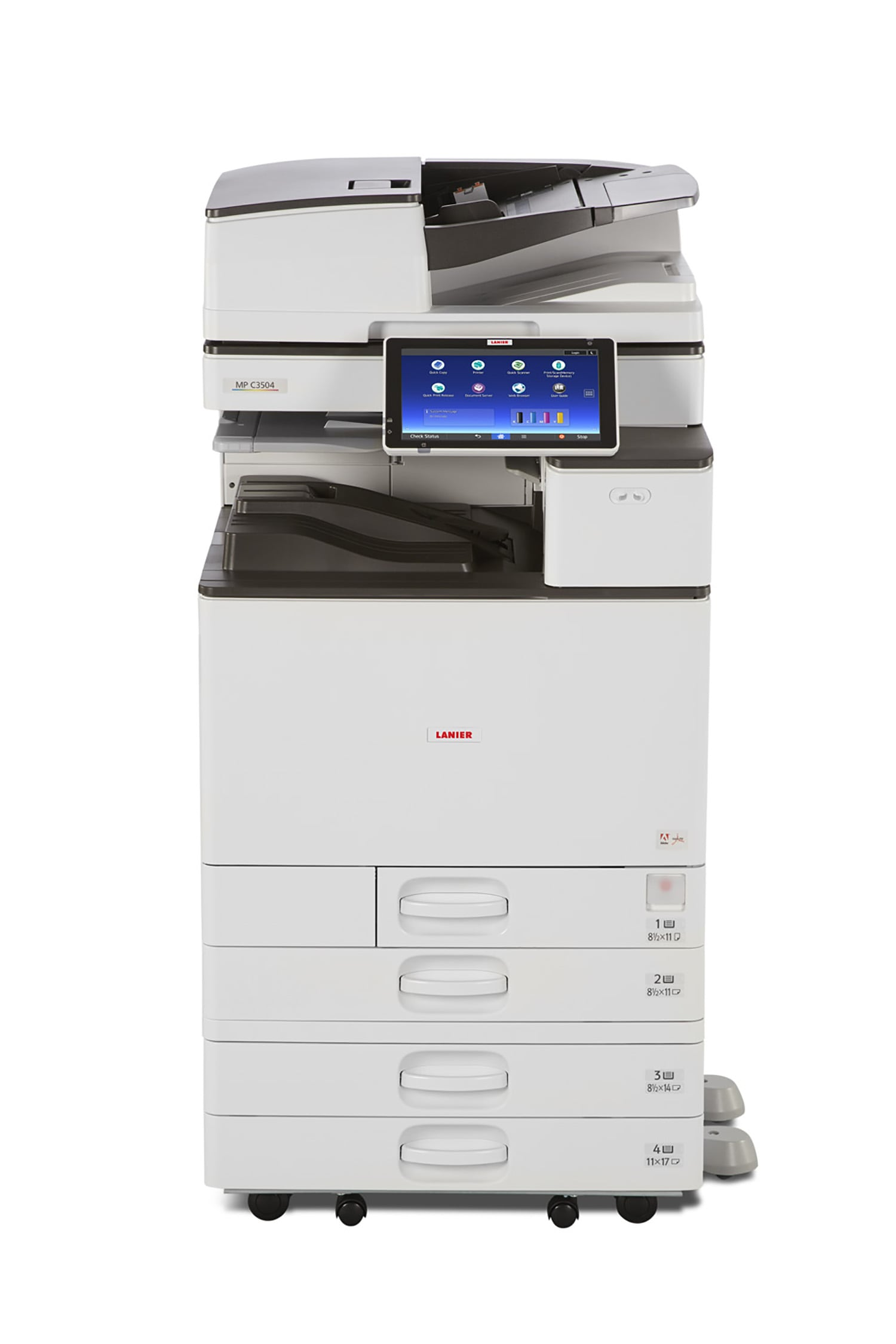 Ricoh MPC2004 colour multifunction printer