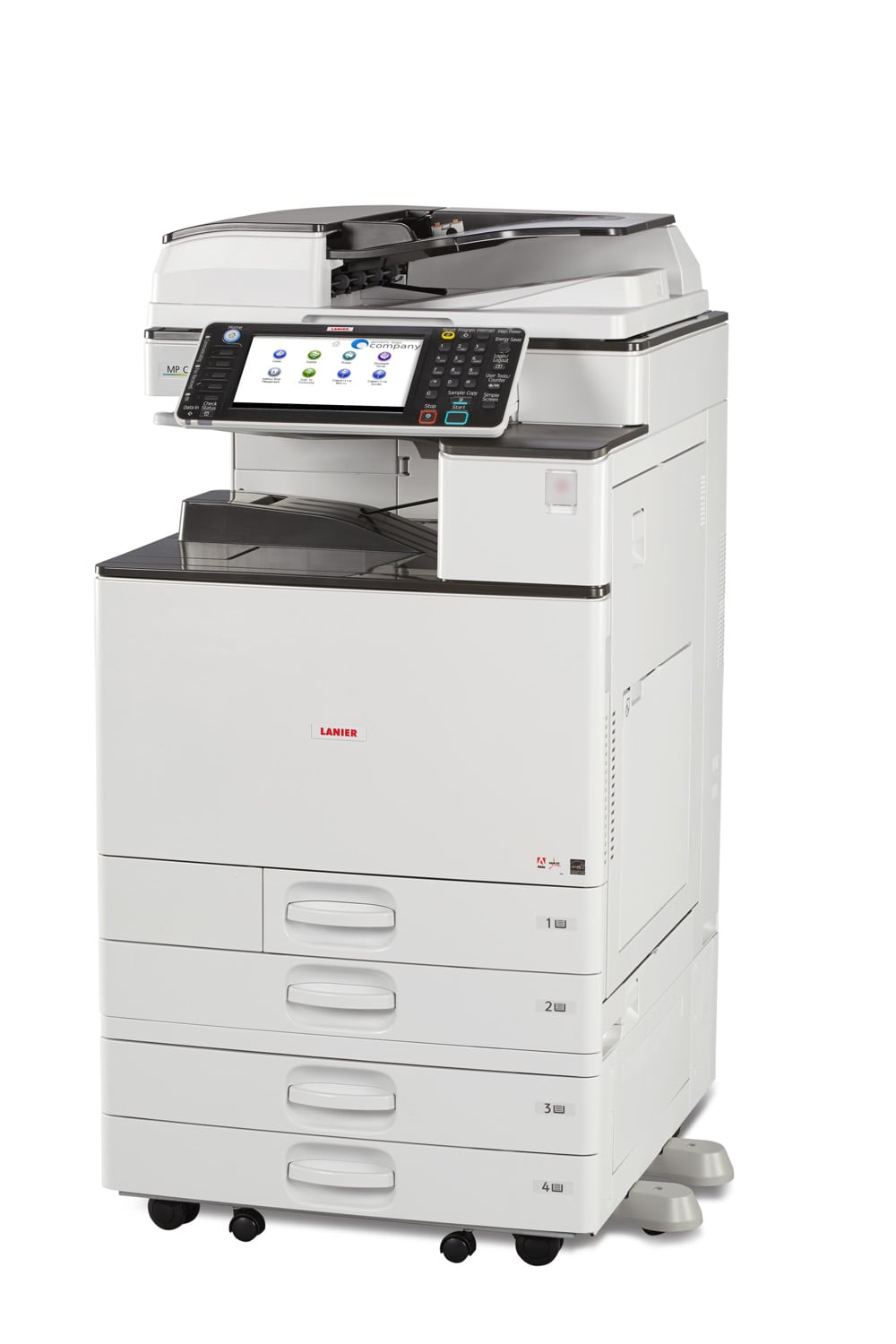 Lanier MPC2003 colour multifunction printer