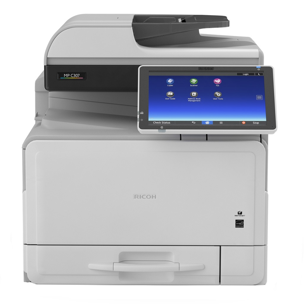 MP C307 Ricoh color laser multifunction printer